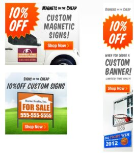 custom banners on the cheap, graduation banners, vinyl banners, stickers banners, cool minecraft banners